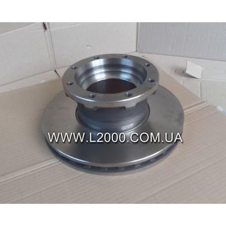 Задний тормозной диск MAN L2000, LE 81508030039 (новый тип). MEGA
