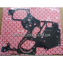 Передняя прокладка блока двигателя MAN L2000, LE, TGL 51019030333 металлическая. ELRING