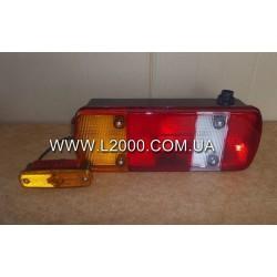 Задний фонарь MAN TGL 5-секций с боковым габаритом правый. MEGA