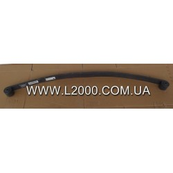 Коренной лист передней рессоры MAN L2000 (Толщина 23 мм). WEWELER