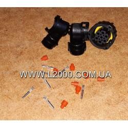 Вилка електрична заднього ліхтаря MAN (під фішку 23 мм, 7 контактів)