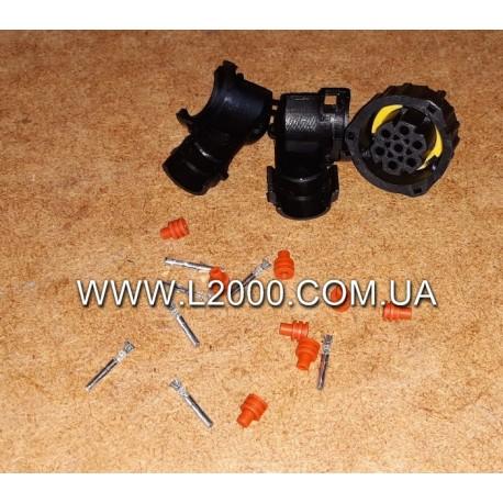 Вилка электрическая заднего фонаря MAN (под фишку 23 мм, 7 контактов)