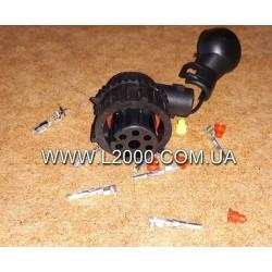 Вилка електрична заднього ліхтаря MAN (під фішку 27 мм, 7 контактів)