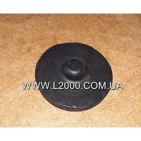 Подушка рессоры MAN L2000, LE круглая (междулистовая прокладка).  Турция