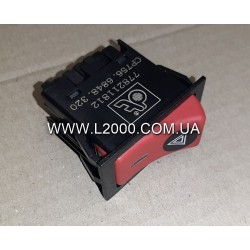 Кнопка включения сигналов аварийной остановки MAN 81255056291. DT