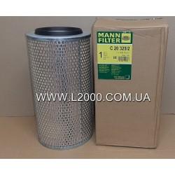 Воздушный фильтр MAN L2000 (c металлическим дном). MANN