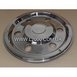 Колпак защиты заднего колеса MAN L2000, LE хромированый (17,5).