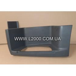 Нижняя пластиковая подножка MAN TGL, TGM 81615100861 левая. Китай