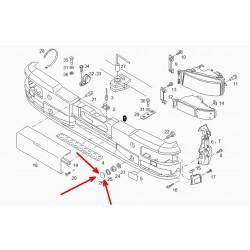 Круглая заглушка бампера MAN L2000, LE, TGL.