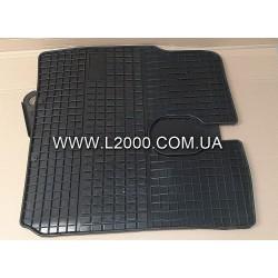 Комплект резиновых ковриков кабины MAN L2000.