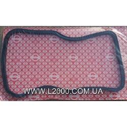 Прокладка поддона MAN L2000, LE, TGL резиновая (новый тип). ELRING