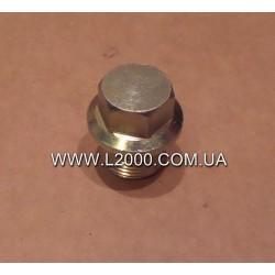 Маслозливна пробка картера MAN L2000, LE (M18, під ключ 17).